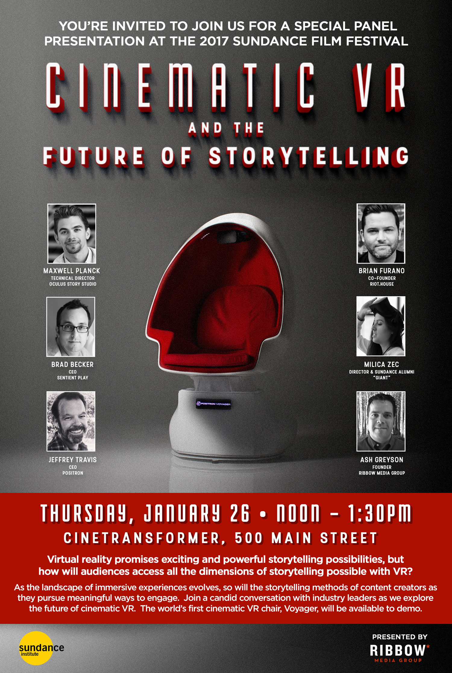 Cinematic VR and the Future of Storytelling – Sentient Play